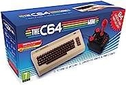 C64 迷你控制台视频深银色 ( 欧洲进口 ) + 1 个游戏杆 + 64 个预装