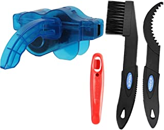 自行车清洁工具,刷链自行车清洁工具套装自行车链清洁刷工具,适合所有自行车。