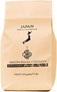 "Origin Sugar Company - 來自哈特馬島的 Raw、未經精煉的日本""Kokuto""黑糖 - 全拐杖糖J500 500 grams"