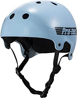 Pro-Tec 老派滑板头盔 - 亮面婴儿蓝 - LG