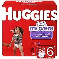 HUGGIES Little Movers 紙尿褲 NEW Giga Pack 6 52