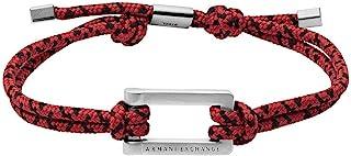 Armani 阿玛尼 Exchange 男士手链 不锈钢 银色 AXG0067040