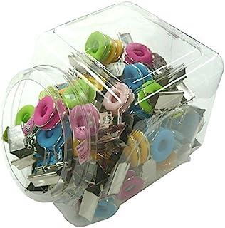 BENCE 甜圈型 夹子 吹塑盒 BDCD-61 60个 彩色MIX