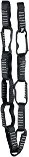 Fusion Climb 12 环单环雏菊链 5000 磅测试缝尼龙织带 91.44 厘米 x 1.91 厘米黑色