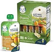 Gerber 嘉寶 Organic 椰子水 香蕉 芒果 南瓜混合果汁 104ml*16件裝