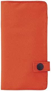 LIHIT LAB. 喜利 smart fit系列 學生筆袋 便攜式文具盒收納包A-7585商務收納袋 4#橙色
