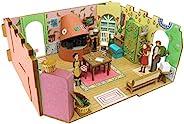 SANKEI 迷你纸模型 吉卜力工作室系列 借借笔的小艺术家 Ariatey家 1/48比例 纸模型 MK07-13