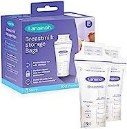 Lansinoh 兰思诺 乳汁储存袋,100个(1包100袋),乳汁冷藏袋用于长期乳汁存储,直接抽吸入袋,哺乳必需品