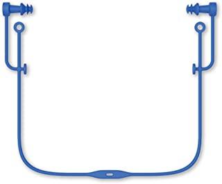 SWANS 游泳 硅胶耳塞 附带绳子 成人用 SA57 蓝色