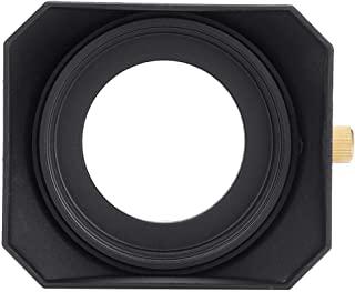 Qiilu 方形镜头遮光罩 便携式摄像机数字配件 适用于 DV 和数字摄像机镜头滤镜(52 毫米)