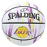 SPALDING(斯伯丁)篮球 球 NBA球队大理石5号 橡胶