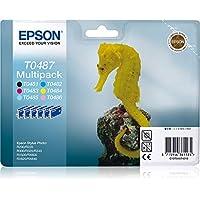 Epson 爱普生 C13T04874020 黑色 6 盒装 爱普生打印机