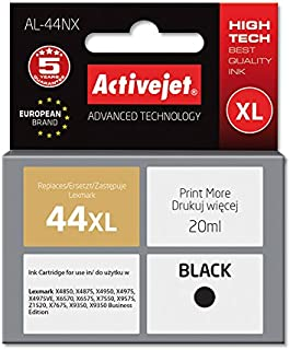ActiveJet AL-44RX 墨水适用于 Lexmark 44XL 18YX144 REM,25 毫升黑色