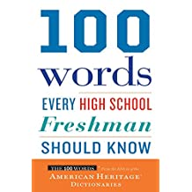 100 Words Every High School Freshman Should Know (English Edition)