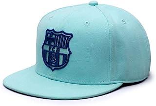 FC 巴塞罗那复古颜色系列后扣帽/帽子 - 3 种颜色可选