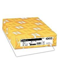 Neenah 精確索引卡片紙,250 張,白色,94 亮度 8.5 x 14/110 lb 白色