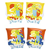"""Bestway Toys Domestic Turtle Arm Bands, 9 x 6"""""""