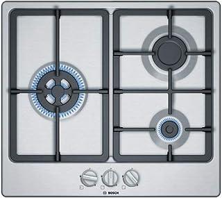 Bosch 博世 PGC6B5B90 玻璃陶瓷不锈钢燃气灶,1000W