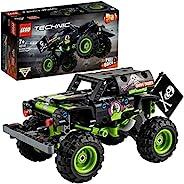 LEGO 乐高 42118 Technic Monster Jam Grave 挖掘机卡车玩具 越野车 2 合 1 建筑套装