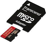 Transcend 创见 Ultimate Class 10 microSDHC 存储卡 带 SD 适配器(UHS-I 90Mbps)