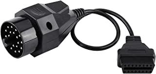 Beennex 20 针至 16 针 OBD2 适配器连接器扫描电缆适用于 B-M-W E36 E38 E39 E46 E53 X5 Z3