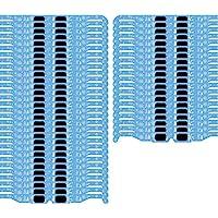 圣誕節 3D 眼鏡 - 假日規格將燈光轉換為神奇雪花圖像(50 片裝)