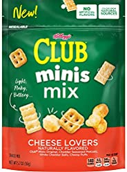 Club Crackers 芝士混合餅干,33.5 盎司(6 盒),6 盎司(約 161.6 克)
