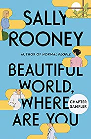 Beautiful World, Where Are You Chapter Sampler (English Edition)