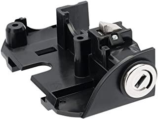 AXA Bosch 2 机架电池组锁 - 黑色,N/A