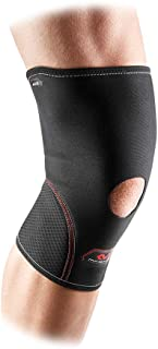 McDavid 迈克达威 402 露髌骨护膝,黑色,Large