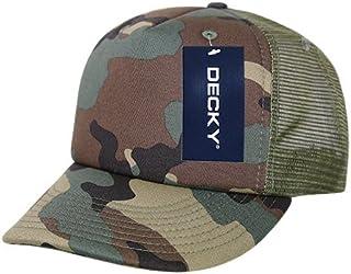 DECKY 迷彩泡沫卡车司机帽,橄榄色