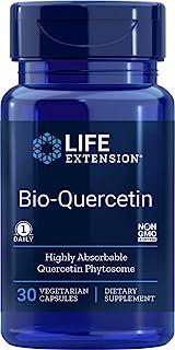 Life Extension - 生物槲皮素 - 30 粒素食胶囊