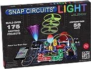 ELENCO Snap Circuits 电子光探索套装| 超过175个令人兴奋的STEM项目| 全彩项目手册| 55个以上Snap Circuits零件| STEM儿童大脑发展玩具,适合8岁以上的人群