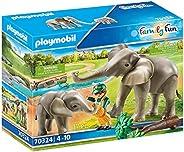 PLAYMOBIL 70324 野营大象,4岁以上