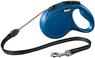 Flexi 全新经典可伸缩导线,蓝色,中号,5 米 20 千克