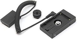 Fotga 电源适配器电缆 适用于 NP-F NP-F970 NP-F960 电池板带 LP-E17 Dummy 电池 适用于 Canon 佳能 EOS RP 77D 200D 750D 760D 800D M3 M5 M6 DSLR 无线相机...