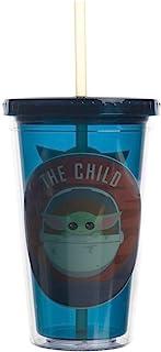 The Child Baby Yoda Evolution 16盎司(约453.6毫升)亚克力旅行杯