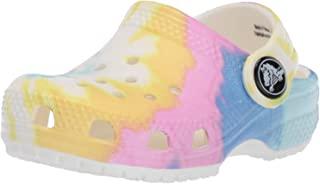 crocs 卡骆驰 儿童款经典扎染印花洞洞鞋 | 休闲水鞋或沙滩鞋