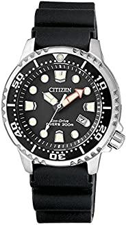 Citizen 西铁城 女式模拟石英手表塑料表带 EP6050-17E