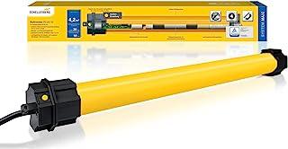 Schellenberg 20710 百叶窗电机 Plus 10 牛米 电子终端设置 *大面积 4.2 平方米 管道电机 60 毫米波 完整套装带墙壁轴承