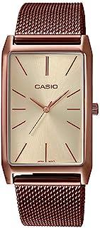 Casio 卡西欧 系列 模拟 女式手表 LTP-E156M 不锈钢网眼表带