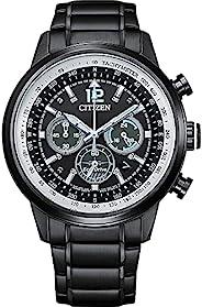 Citizen 西铁城 男式计时光动能手表不锈钢表带 CA4475-89E