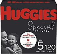 低*性婴儿纸尿裤尺寸 5,120 片,Huggies *