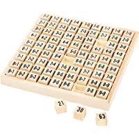 算术板小号 1x1 木质,游戏方式,儿童学习计算,儿童的理想训练,7岁以上成长经验 Kind FSC Holz 多色