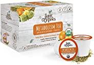 Super Organics 新陈代谢乌龙茶胶囊 含*食物和* | Keurig K-Cup兼容 | 体重和新陈代谢,纤细茶 | USDA Organic 认证,素食,非转*,天然和美味的茶,72ct