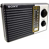 Sony ICF-F10 双 2 频 FM/AM 便携式电池晶体管收音机