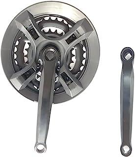 MTB 自行车曲柄臂套装,42T 34T 24T 通用曲柄套装,适用于山地自行车公路自行车 170mm 曲柄臂