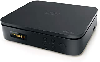 Muse M-52 DV 微系统 带 CD / MP3 播放器 USB FM 立体声和蓝牙 遥控器 黑色