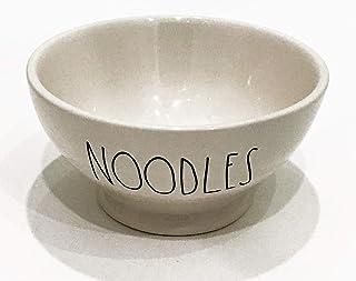 Rae Dunn By 洋红色陶瓷 NOODLES 碗   非常适合任何类型的面条或意大利面!