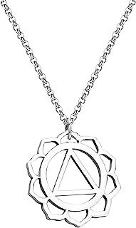 AA Mandala Jewelry 酒精匿名项链钥匙扣恢复清醒礼物